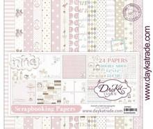 Dayka Bebe Niña 12x12 Inch Paper Pack (SCP-3023)