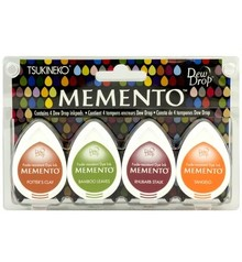 Tsukineko Memento Meadowland Dye Ink Set (MD-100-007)
