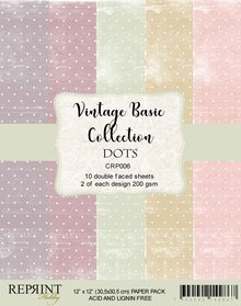 Reprint Dots Basic 12 x12 Inch Collection Pack (CRP006)