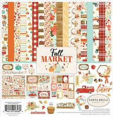 Carta Bella Fall Market 12x12 Inch Collection Kit (CBFAM105016)