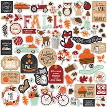 Echo Park My Favorite Fall 12x12 Inch Element Sticker (MFF187014)