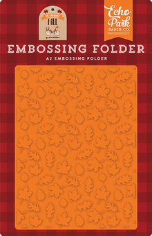 Echo Park My Favorite Fall Fall Is In The Air Embossing Folder (MFF187031)