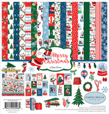 Carta Bella Merry Christmas 12x12 Inch Collection Kit (CBMC107016)