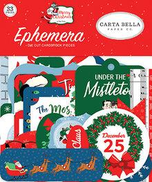 Carta Bella Merry Christmas Ephemera (CBMC107024)
