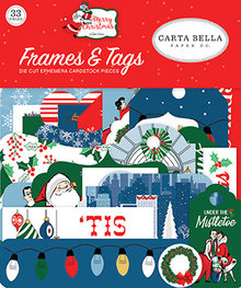 Carta Bella Merry Christmas Ephemera Frames & Tags (CBMC107025)