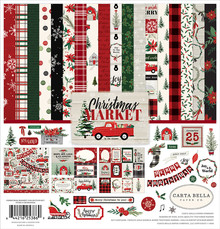 Carta Bella Christmas Market 12x12 Inch Collection Kit (CBCM106016)