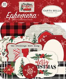 Carta Bella Christmas Market Ephemera (CBCM106024)