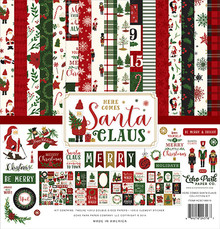 Echo Park Here Comes Santa Claus 12x12 Inch Collection Kit (HCSC188016)