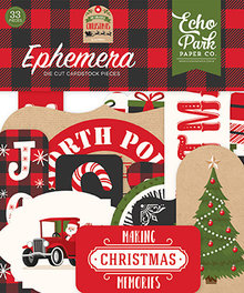 Echo Park My Favorite Christmas Ephemera (MFC190024)