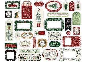 Echo Park A Cozy Christmas Ephemera Frames & Tags (ACC189025)