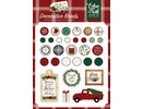 Echo Park A Cozy Christmas Decorative Brads (ACC189020)