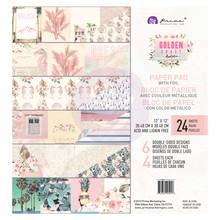 Prima Marketing Inc Golden Coast 12x12 Inch Paper Pad (995058)