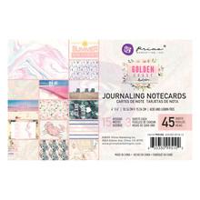Prima Marketing Inc Golden Coast 4x6 Inch Journaling Cards (995102)