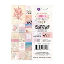 Prima Marketing Inc Golden Coast 3x4 Inch Journaling Cards (995096)