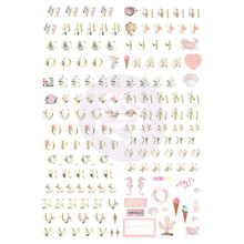 Prima Marketing Inc Golden Coast Alphabet Stickers (995119)