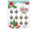 Craft Consortium It's Snome Time Snowflakes Charms (CCMCHRM007)