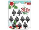 Craft Consortium It's Snome Time Toad Stools Charms (CCMCHRM008)
