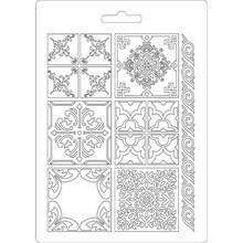 Stamperia Texture Impression Soft Mould A5 Azulejos (K3PTA523)