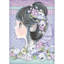 Stamperia Rice Paper A4 Lilac Fairy (DFSA4411)