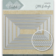Card Deco Snijmal Stitch Rectangle (CDECD0029)