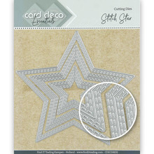 Card Deco Snijmal Stitch Star (CDECD0032)