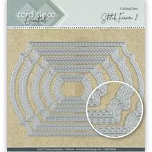 Card Deco Snijmal Stitch Frame 2 (CDECD0034)