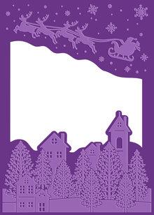 Gemini Christmas Eve Cut & Embossing Folder (GEM-CEF-CEVE)