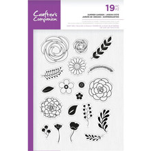 Crafter's Companion Summer Garden Clear Stamps (CC-SP-CA-SUG)