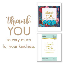 Spellbinders Thank You Combo Hot Foil Plate (GLP-145)