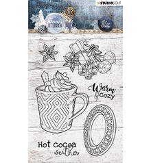 Studio Light Snowy Afternoon Clear Stamps (STAMPSA396)