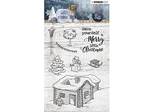 Studio Light Snowy Afternoon Clear Stamps (STAMPSA399)