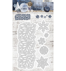 Studio Light Snowy Afternoon Snij- & Embossing Mal (STENCILSA219)