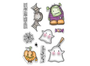 Polkadoodles FAB-BOO-LOUS Clear Stamps (PD7457)