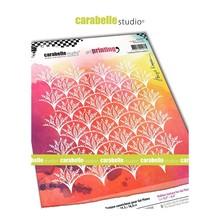 Carabelle Studio Scalloped Flower Pattern Art Printing (APRO60033)