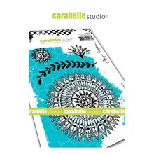 Carabelle Studio Indian Inspired #3 Cling Stamp (SA60453)