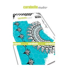 Carabelle Studio Indian Inspired #1 Cling Stamp (SA60454)