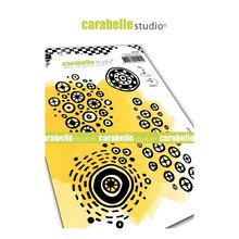 Carabelle Studio Round and Round Cling Stamp (SA60460)