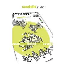 Carabelle Studio Zoziaux Rigolos Cling Stamp (SA60462)