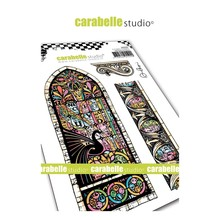 Carabelle Studio Vitrail Cling Stamp (SA60464)
