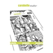 Carabelle Studio Background Cathedrale Cling Stamp (SA60466)