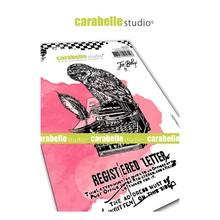 Carabelle Studio Lettre d'une Chouette Cling Stamp (SA60474)
