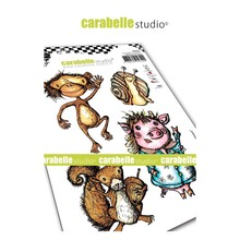 Carabelle Studio Droles d'animaux Cling Stamp (SA60475)