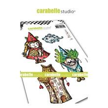 Carabelle Studio Renaud et Juliette Cling Stamp (SA60476)