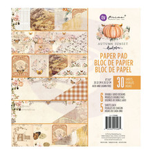 Prima Marketing Inc Autumn Sunset 8x8 Inch Paper Pad (995485)
