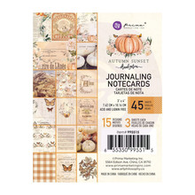 Prima Marketing Inc Autumn Sunset 3x4 Inch Journaling Cards (995515)