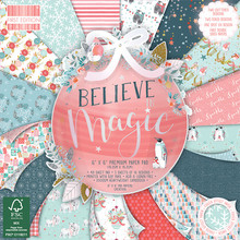 First Edition Believe in Magic 6x6 Inch Paper Pad (FEDEC217X19)