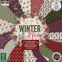 First Edition Winter Rose 8x8 Inch Paper Pad (FEPAD291X19)