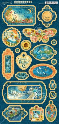 Graphic 45 Dreamland Chipboard (4501933)