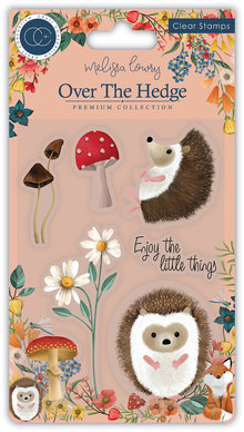Craft Consortium Harry the Hedgehog Clear Stamps (CCSTMP016)