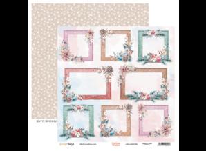 ScrapBoys Cotton Winter 12x12 Inch Paper Set (COWI-08)
